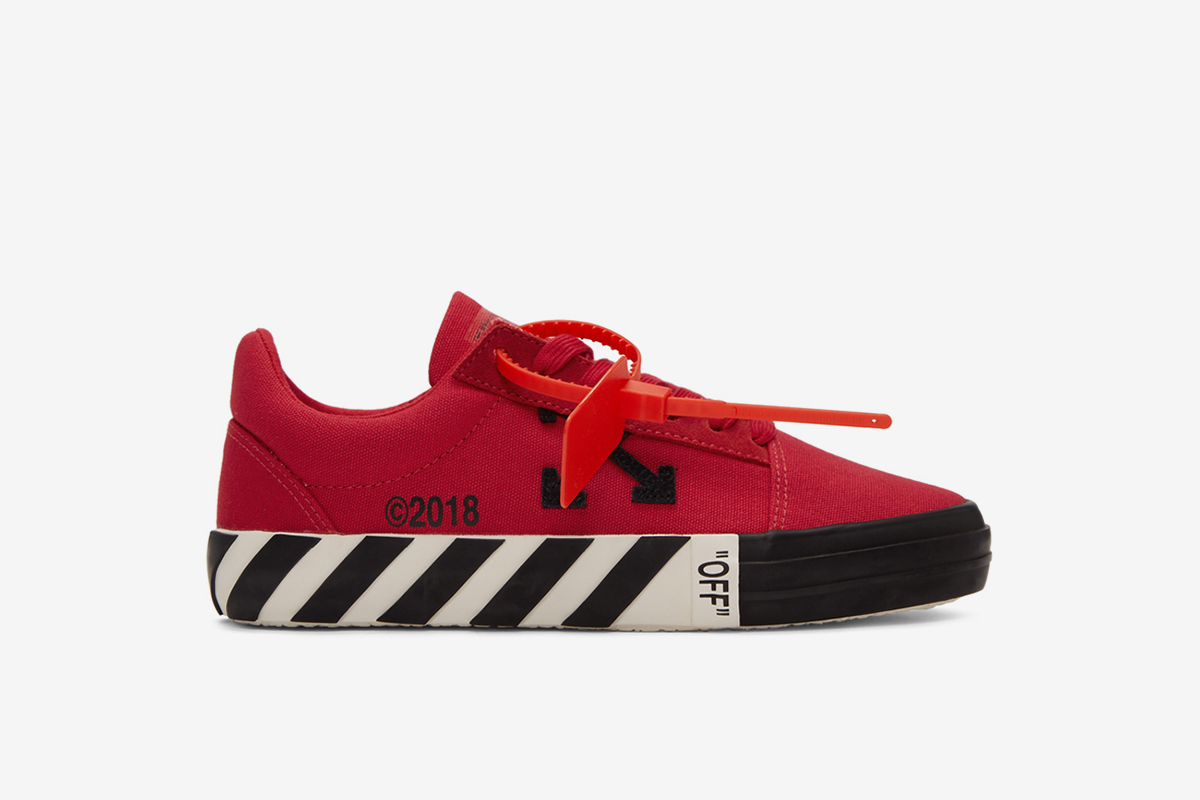 5b41c1e5cf0 These OFF-WHITE Sneakers are the Closest Thing to a Vans Collab