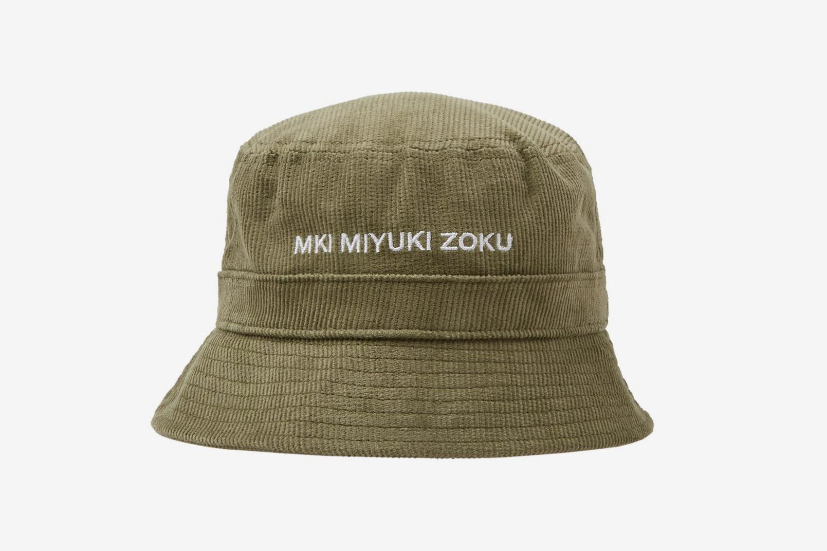 Mki Corduroy Bucket Hat What Drops Now