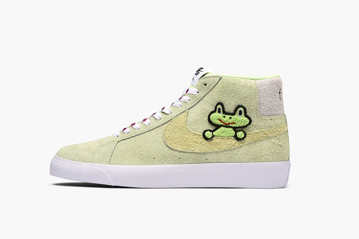 be42c364bad30 Nike SB x Frog Skateboards Blazer Mid & More Drops This Week