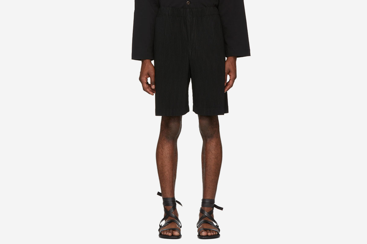 3b7eca1e8 Issey Miyake's Homme Plissé Trousers & Shorts Are Here to Save Your ...