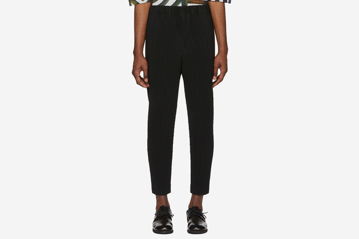 55841ea9a Pleated Shorts. Homme Plisse Issey Miyake. $275. Buy at ssense · Tapered  Cropped Trousers