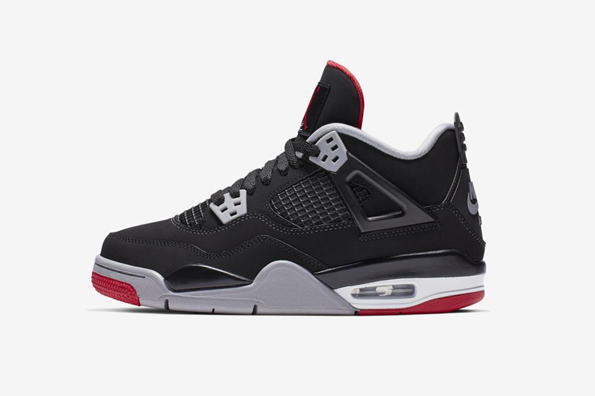 """eea50c48017f Air Jordan 4 """"Bred""""   More of This Week s Best Drops"""