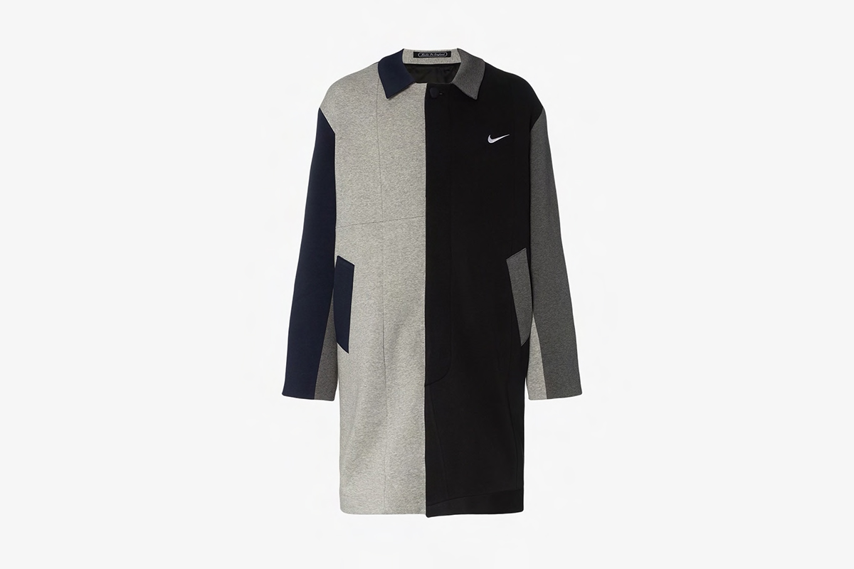 Nike Reconstructed Patchwork Coat