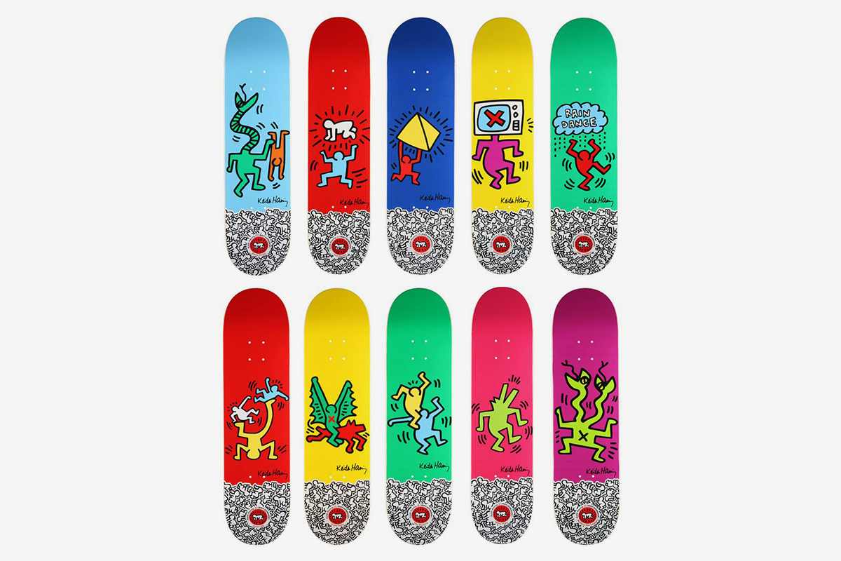 Alien Workshop Skate Decks (Set of Ten), 2012