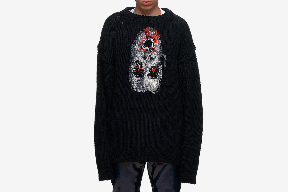 Jacquard Pullover Sweater