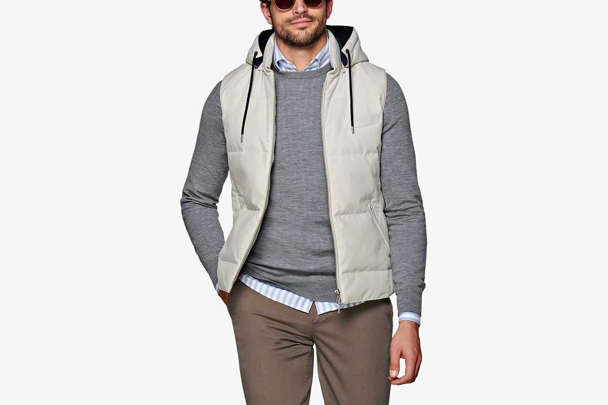 Fonkelnieuw Suit Supply Padded Vest   What Drops Now NM-78