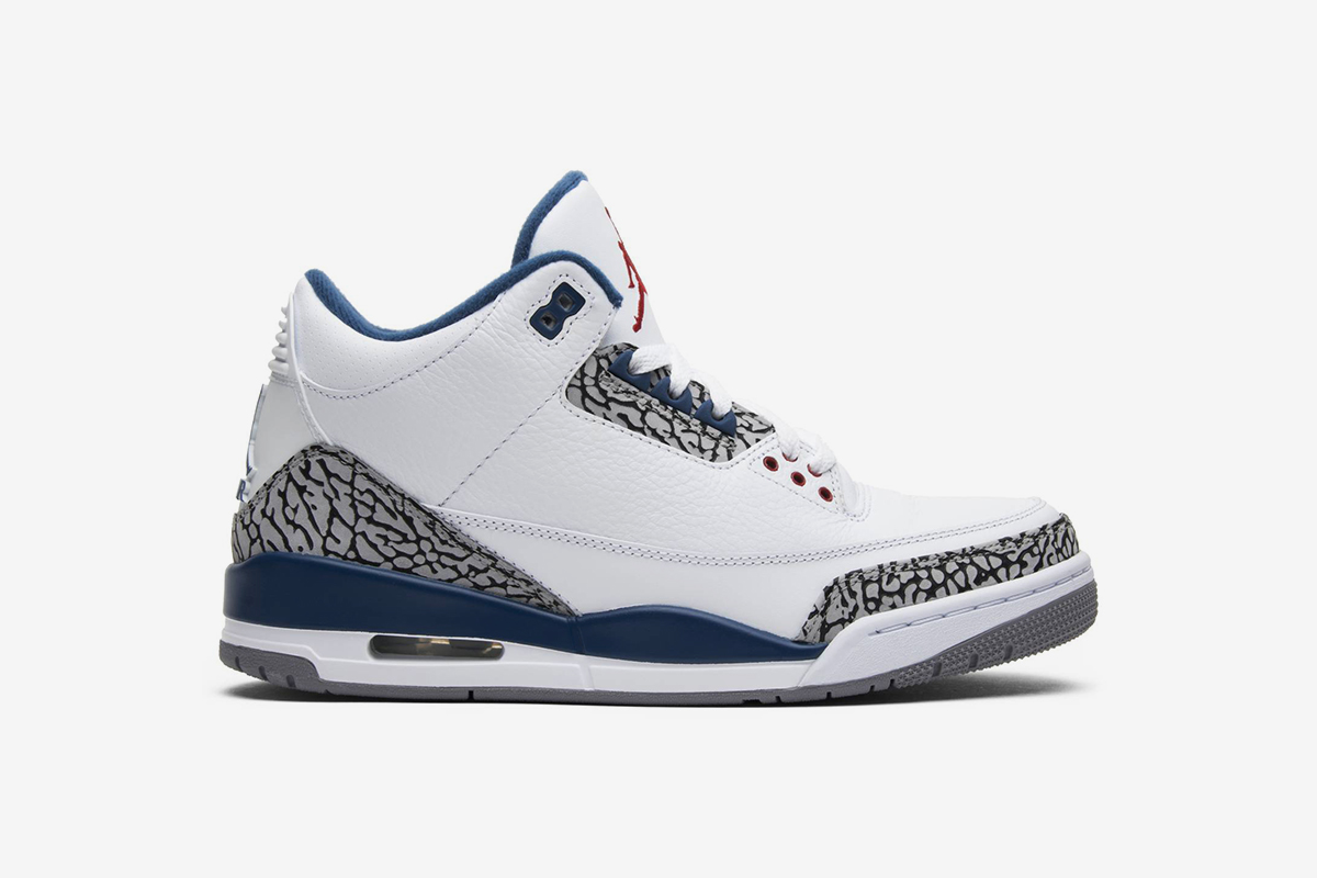 new concept 405b3 5d93f Nike Air Jordan 3 Retro 'True Blue' 2011