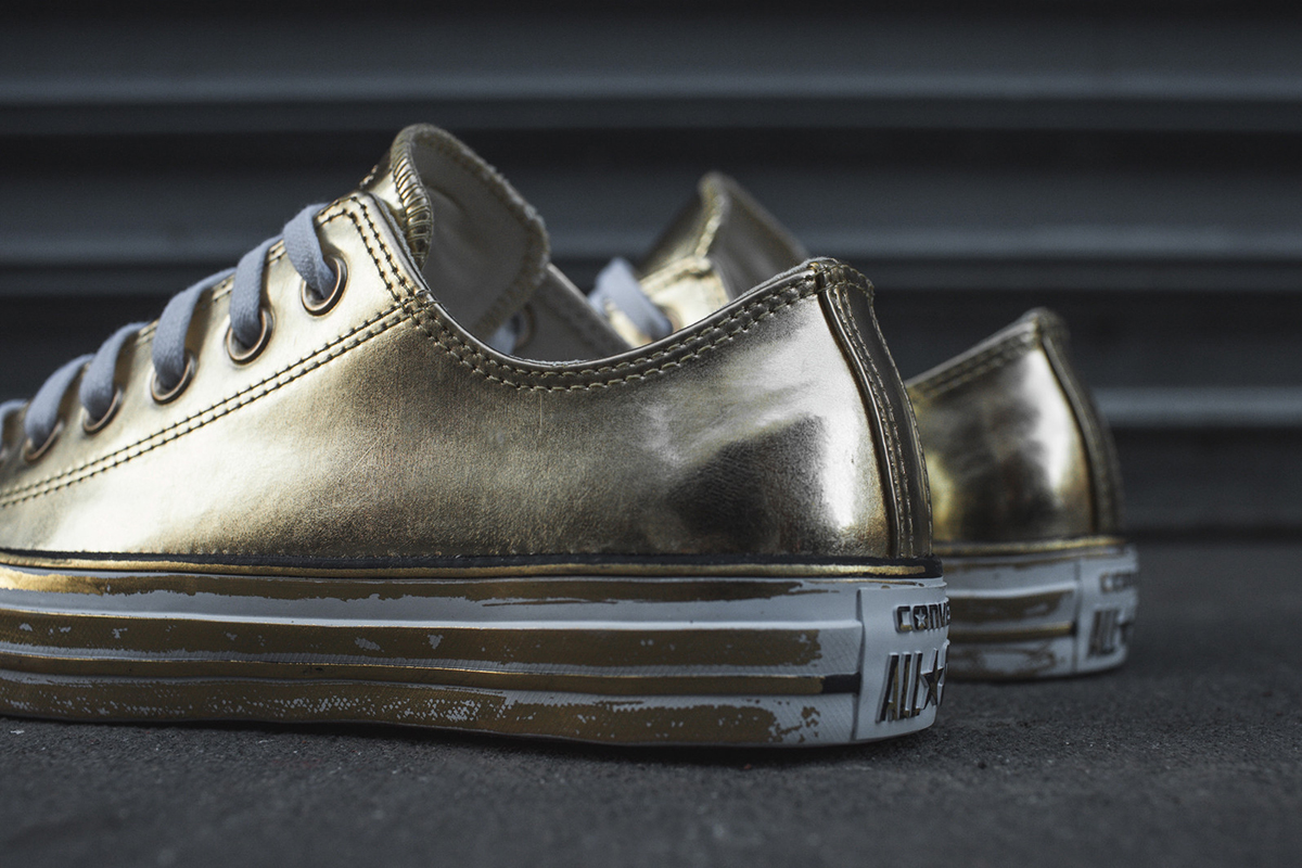 df4a3e3729bb Converse Drops Two Metallic Colorways of the Chuck Taylor