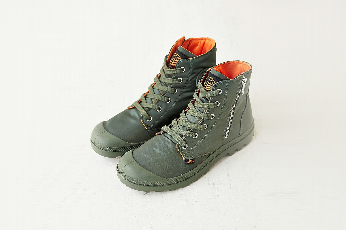 Palladium Palladium x Alpha Industries Pampa Zip Boot  0537f09496c