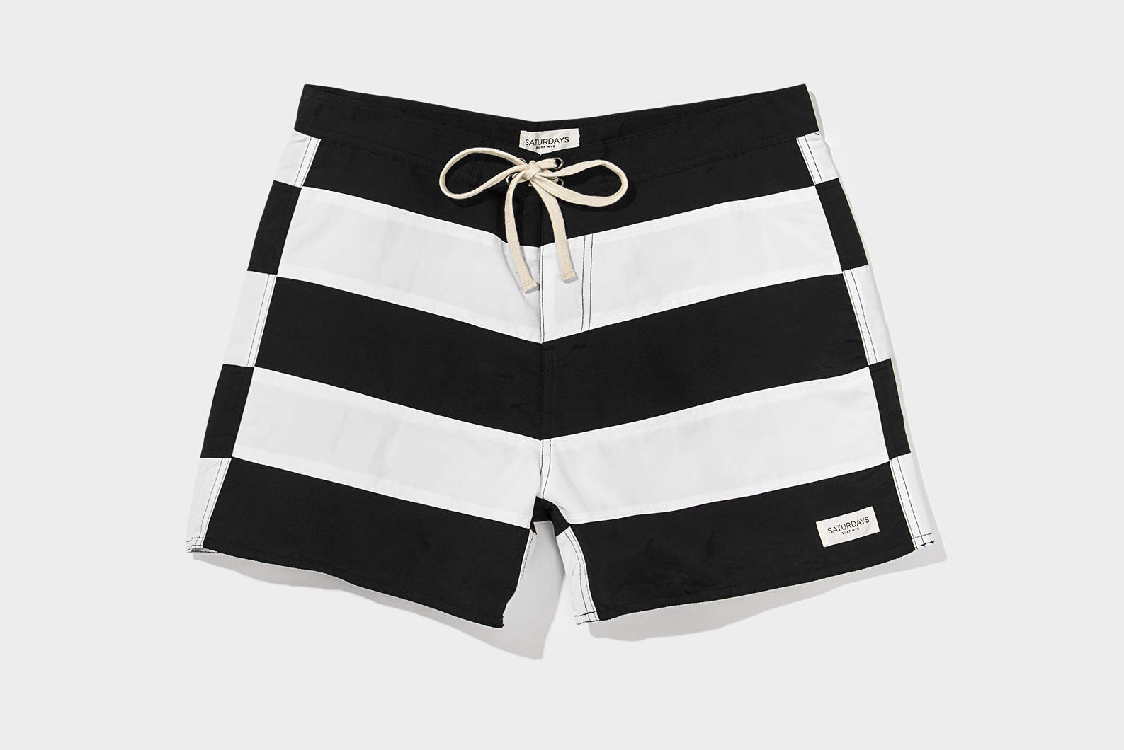 972e91a7f3 Saturdays NYC Grant Offset Boardshort | What Drops Now