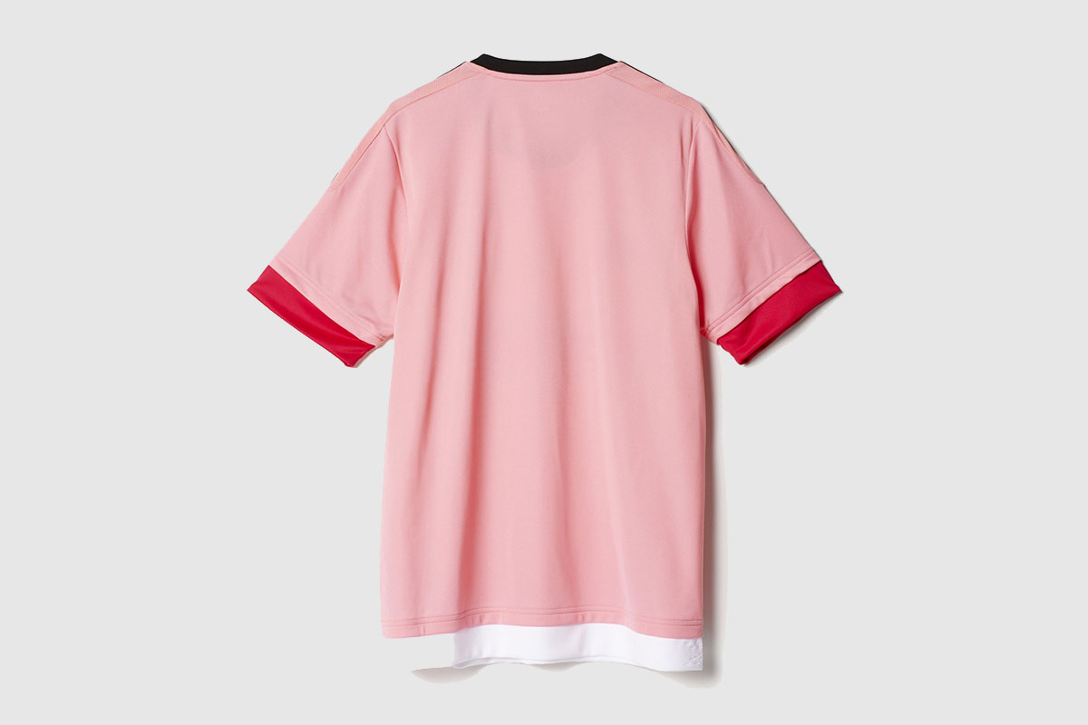 d2769d70 Why Drake Is Wearing a Pink European Football Jersey