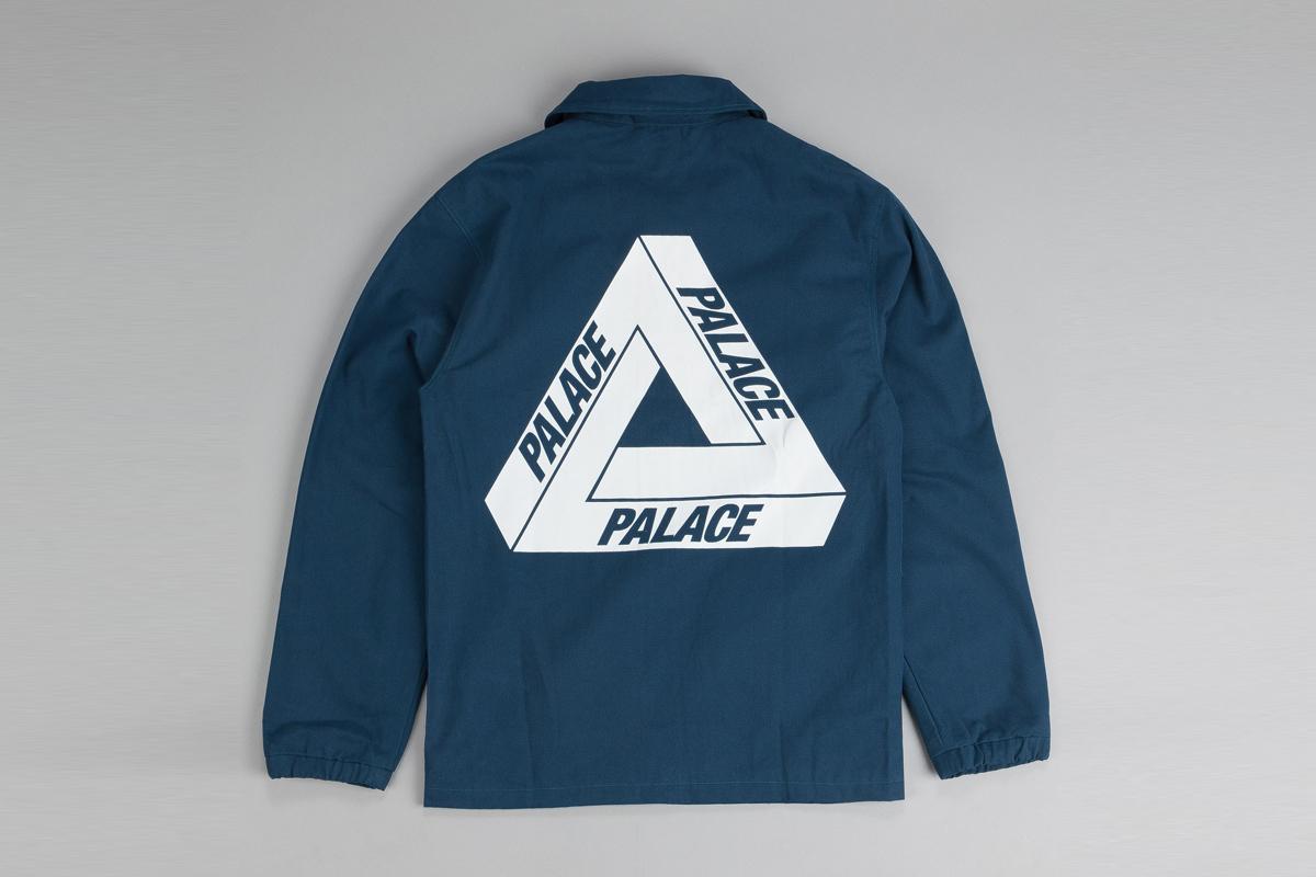 8e066c6eca94 Product description. Coral blue coaches jacket ...
