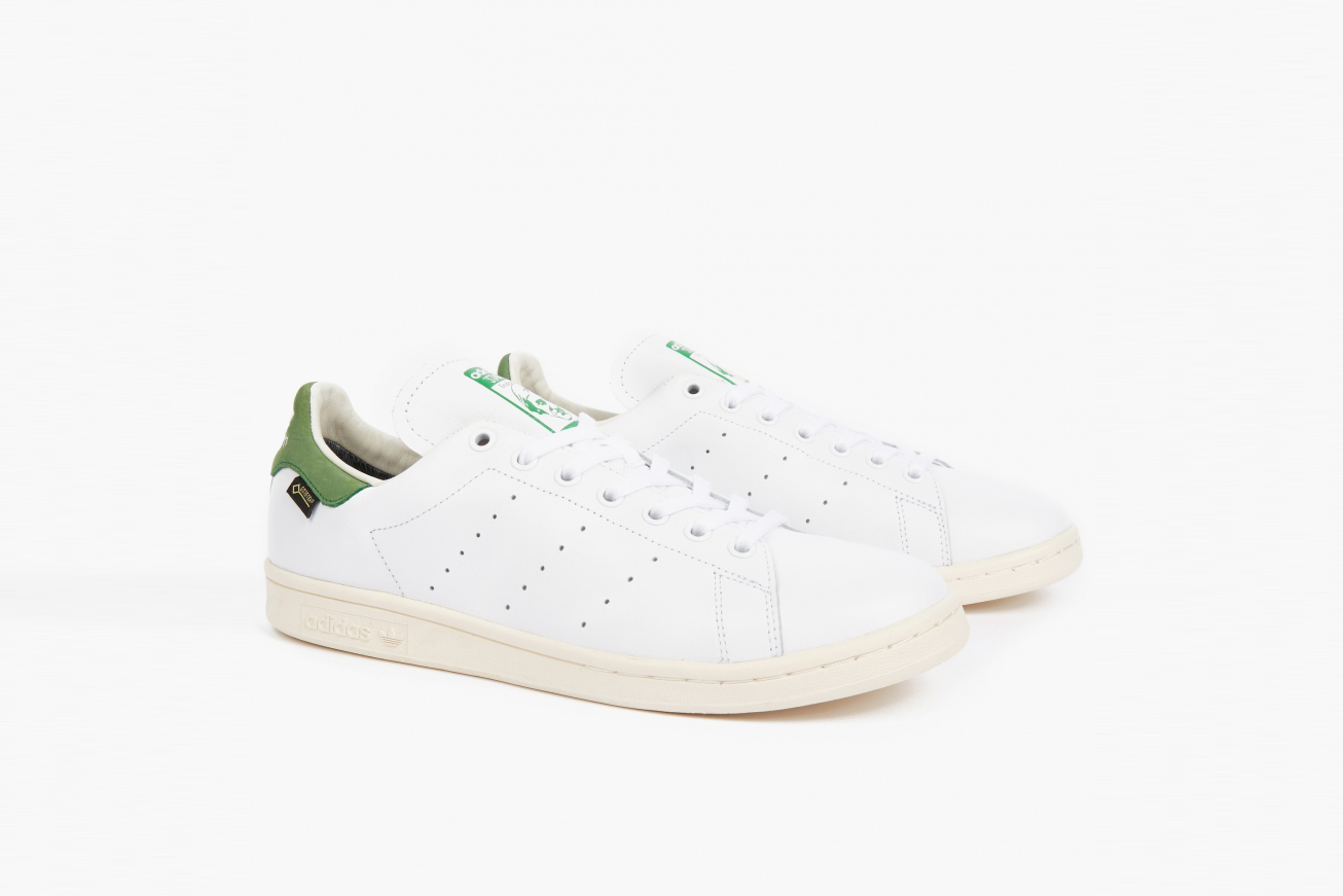 buy popular 8792c 6779c adidas Originals Introduces the Stan Smith Leather Sock With A ...