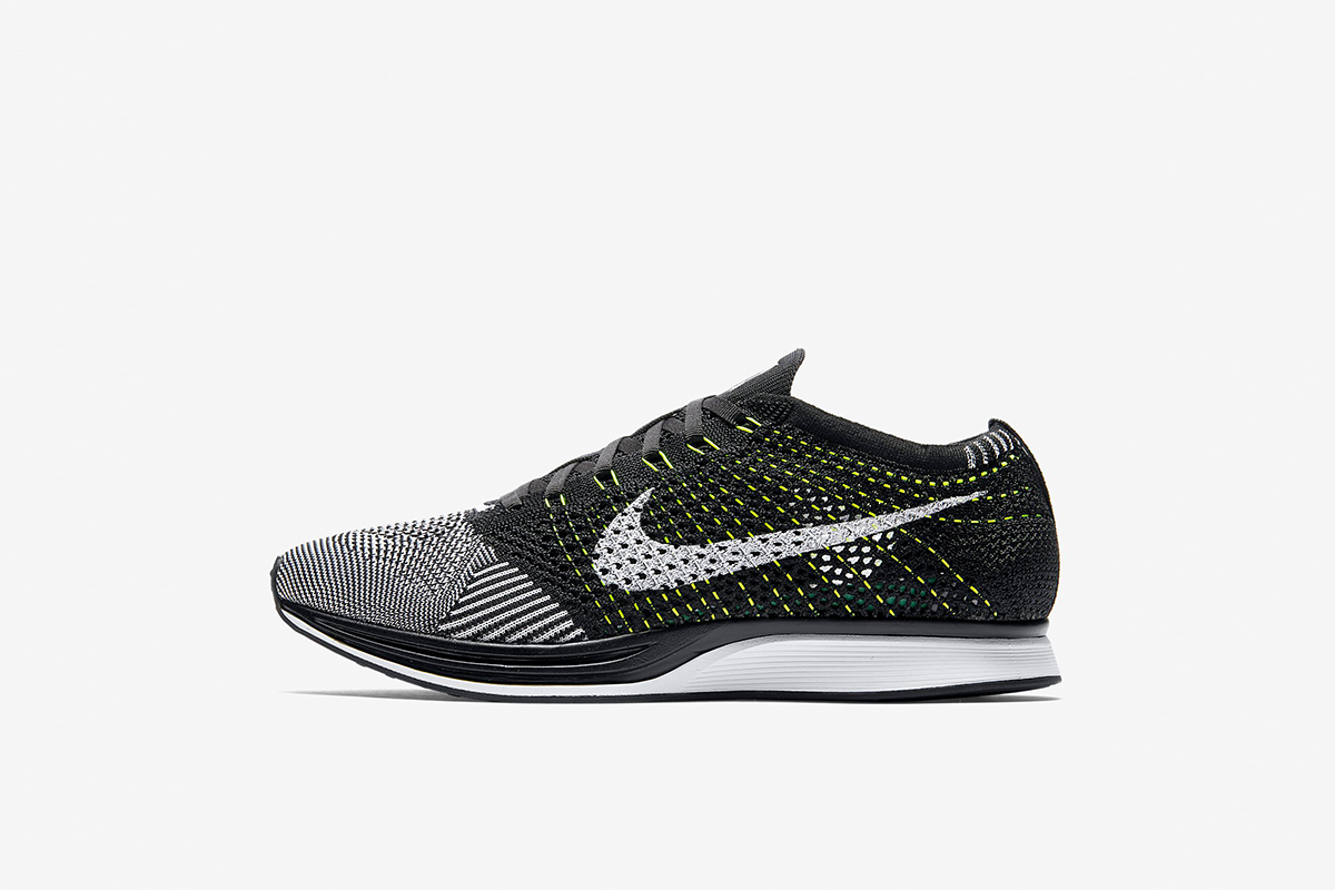 more photos bb029 cffd0 The Nike Flyknit Racer