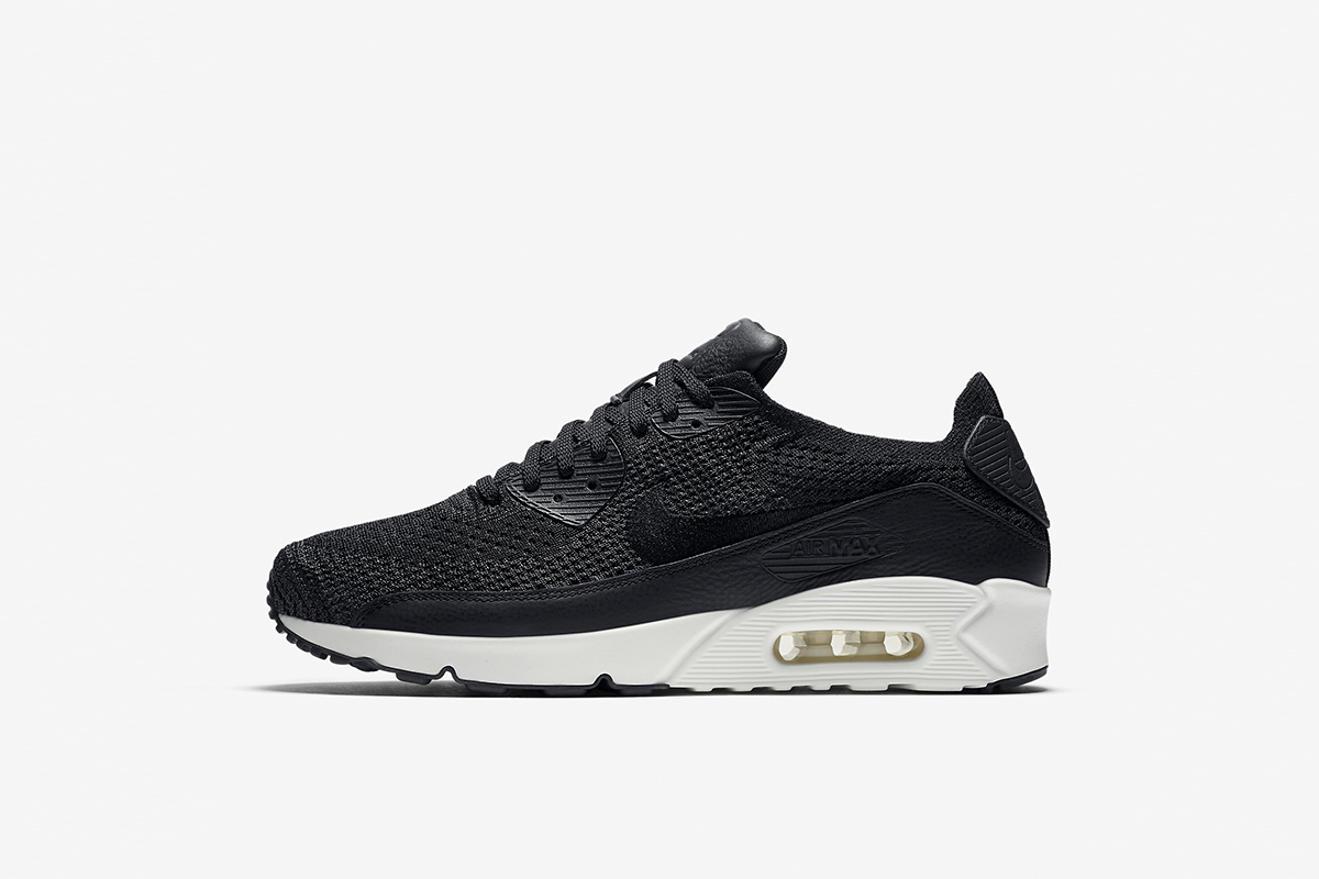 uk availability 46555 6781a Nike Set to Drop Air Max 90 Ultra 2.0 Flyknit in Black and White