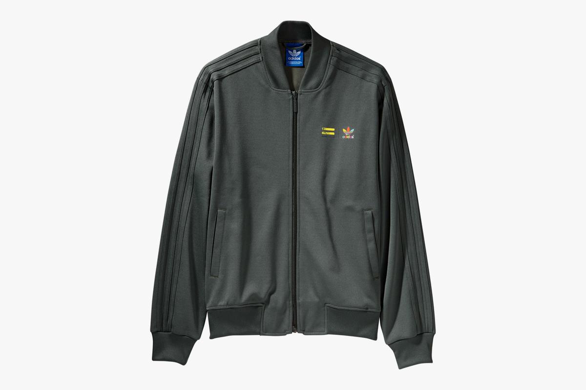 256cad880 adidas Originals adidas Originals x Pharrell Williams Track Jacket   Supercolor