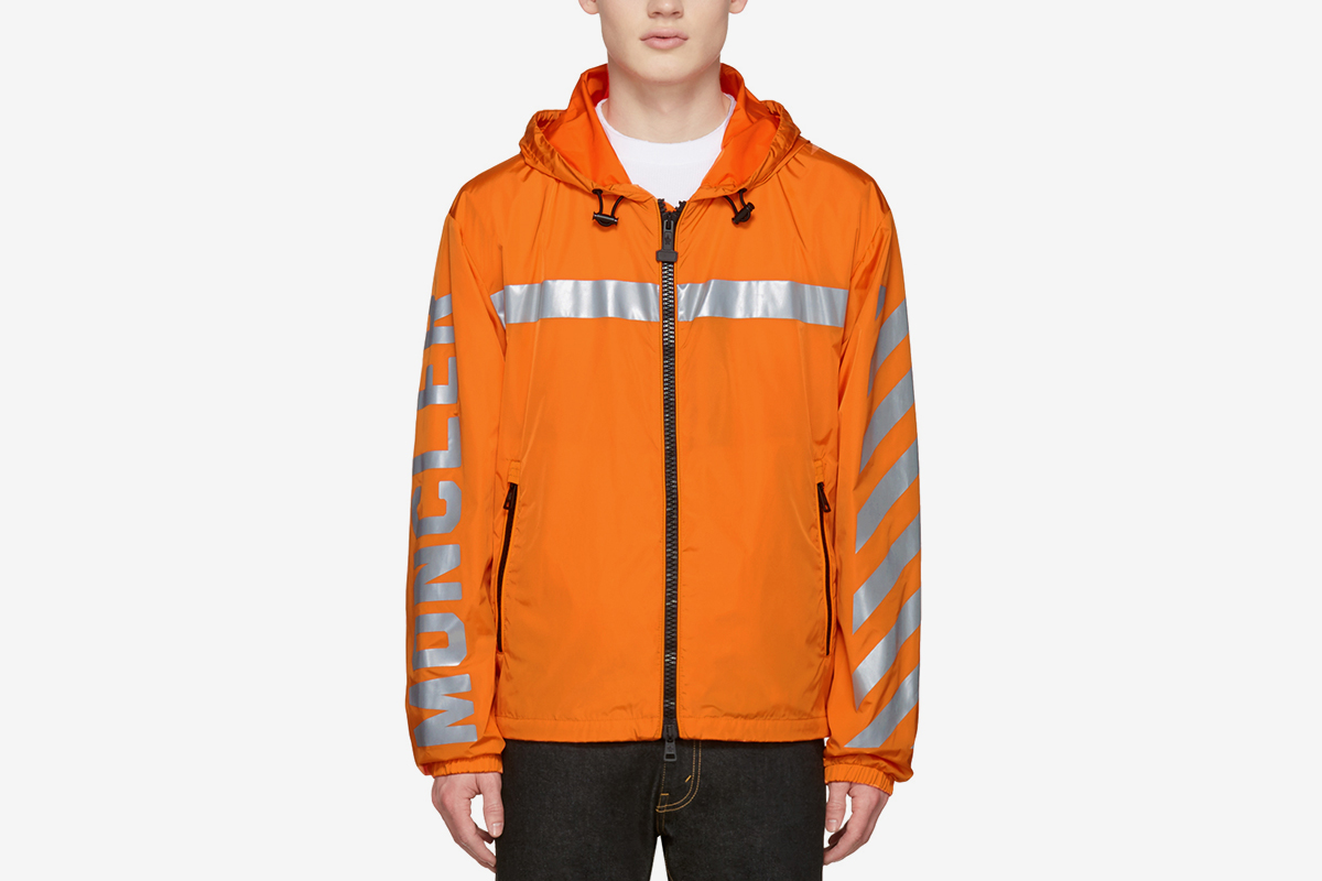 Moncler X Off White Logo Windreaker Jacket What Drops Now