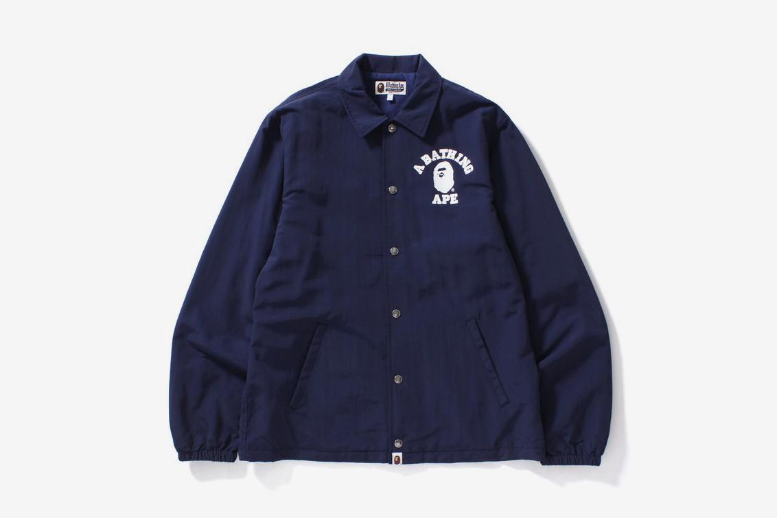 Bape College Coach Jacket What Drops Now